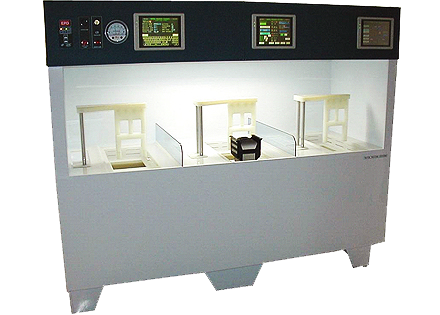 semi-automated semiconductor wet bench two