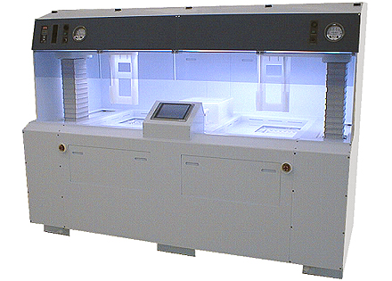 semi automated semiconductor wet bench